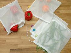 Reusable Mesh Produce Bags (Set of 5)