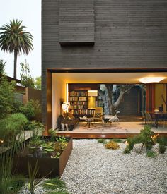 Architectural designer Sebastian Mariscal and project manager Jeff Svitak created a house in Venice, California, for Michael and Tamami Sylvester. Known as Dwell Home Venice for its role as an exemplification of modern architecture, the house is an homage to indoor-outdoor living. Photo by Coral von Zumwalt.