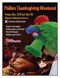 Phillies Thanksgiving Weekend happythanksgivingr friday, thanksgiv weekend, philli thanksgiv