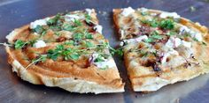 Whip up this Waffle Pizza for breakfast or dinner.