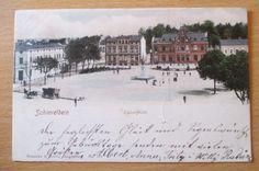 alte Ansichtskarte Schivelbein Świdwin Westpommern 1902 gelaufen   eBay