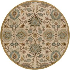 Artistic Weavers John Beige 4 ft. Round Area Rug-JHN-1012 at The Home Depot