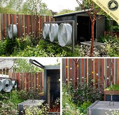 Chelsea Flower Show – Best Urban Garden featuring our Reclaimed Timber