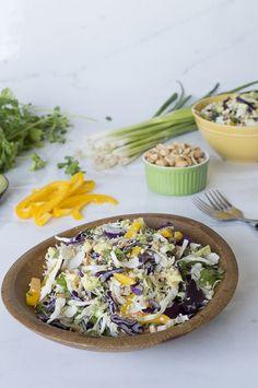 Crunchy Cabbage Asian Salad