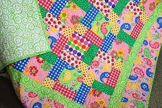 kid quilt, color quilt, children quilt