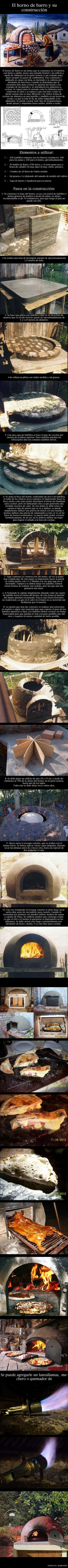Como hacer un horno de barro