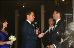 Best (Gay!) Celebrity Weddings of 2012: Thomas Roberts and Patrick Abner