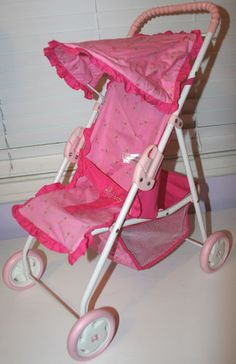 American Girl Bitty Baby Hot Pink Stroller - now retired!