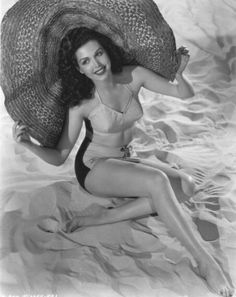 Bathing beauty Ann Miller...think this is the best picture I ever saw of her