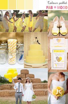 yellow wedding,yellow wedding ideas,Yellow summer wedding ideas, yellow color palettes,yellow wedding colour palettes,yellow wedding colour mood board, yellow bouquets