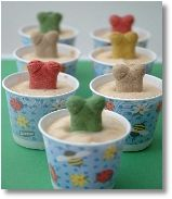 Frosty, frozen summertime treats...for Dogs!!