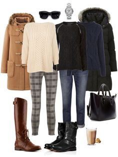 Ensemble: Skinnies with Boots and Chunky Sweaters - YLF