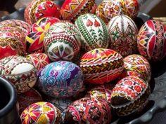 holiday, folk art, ukraine, easter eggs, easter centerpiece, jigsaw puzzles, egg art, poland, polish