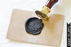 Squirrel Gold Plated Wax Seal Stamp x 1 by BacktoZero on Etsy, $20.00