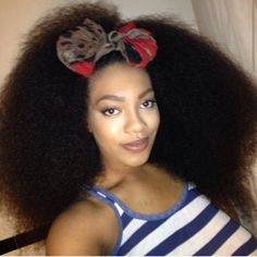 Click the link for Kami's natural hair photos and regimen.