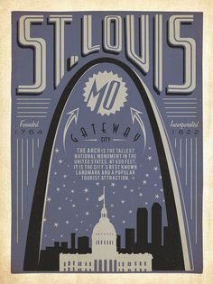 St. Louis. I love this poster