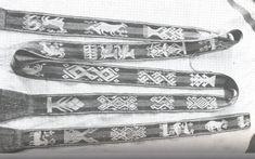 Stole of St Donats, Arlon 12th century 3/1 Broken Twill tablet woven