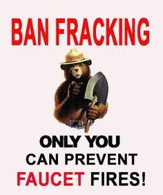 Say no to fracking!