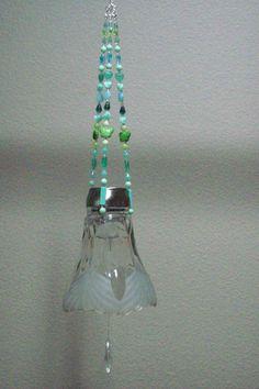 Hanging Solar Light by ketchlyd on Etsy. $25.00, via Etsy.