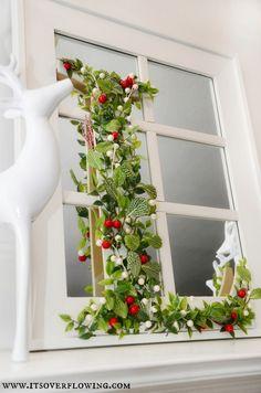 Pinterest Inspired - Anthropologie Monogram Wreath #DIHworkshop #wreath #Christmas #DIY
