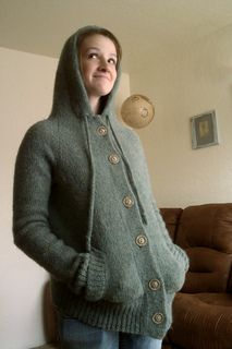 Twilight New Moon Eclipse Bella Green Hood Cardigan...want one of these!
