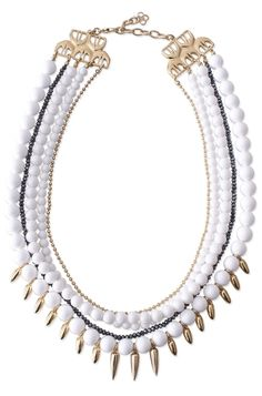 Stella & Dot Limited Edition Mischa Statement Necklace