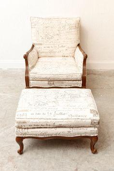 What a cute chair