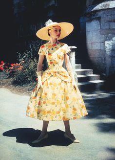 "Audrey Hepburn in ""Funny Face""."