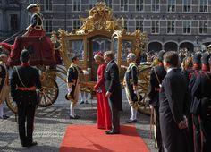King Willem Alexander and Queen Máxima, Prinsjesdagsdag 16 september 2014