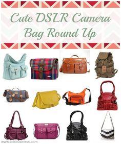 Cute DSLR Camera Bag Round Up