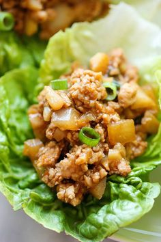 PF Chang's Chicken Lettuce Wraps - A copycat recipe that you can easily make in just 20 minutes. And it tastes a million times better too!