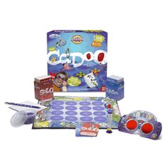 Cranium Cadoo-Work on a variety of skills by sculpting, acting, drawing to win and get four in a row!