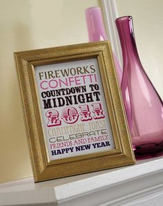 idea, subway art, sparkl frame, frames, year craft, year eve, designer bags, art tattoos, new years