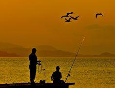Tardes de pesca by Sanchez JMC, via 500px