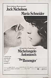 Posteritati: PASSENGER, THE (Professione: reporter) 1974 U.S. 1 sheet (27x41)