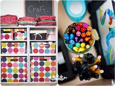 craft supply organization, craft supplies, room idea, craft storag, room tour, photography, crafts, colour craft, craft rooms