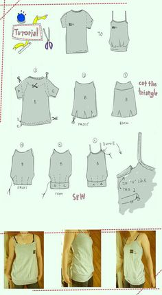 Shirt Tuto by #TipsAndTricks on deviantART