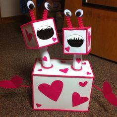 The cutest idea for a Valentine's box!
