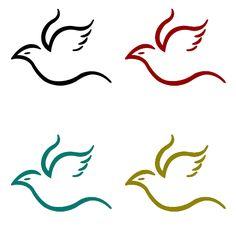 Flying Bird Simple Logo by ~vesperTiLo on deviantART