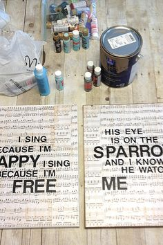 Great idea for my musical family