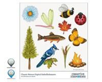 Classic Nature Digital Embellishments for StoryBook Creator