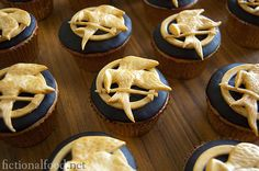 the hunger games cupcakes