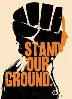 Stand Our Ground, by Tes One. Justice for Trayvon...