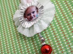 diy christmas ornaments   DIY Photo Christmas Ornament Craft   Living Locurto ~ A Creative DIY ...