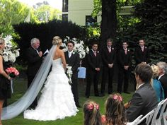 The George The Residence - Garden Ceremony. Photography, Frank Visser.