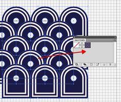 Tutorial: repeating patterns in Illustrator.
