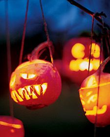 "hanging turnip ""bogie lanterns"". The forefathers of the modern day jack-o-lanterns."