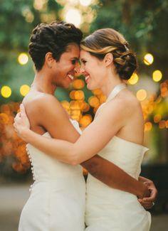 Real Wedding: Cassy + Lakeysia at CornerStone Sonoma.