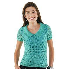 Camisa pólo verde Camila Fashion