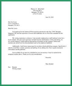 Job Application Letter Unemployed